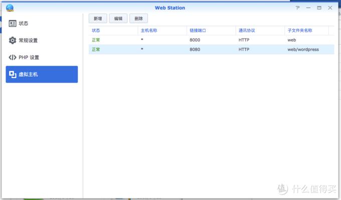 从群晖Web Station安装WordPress&PhpMyAdmin看shell的使用